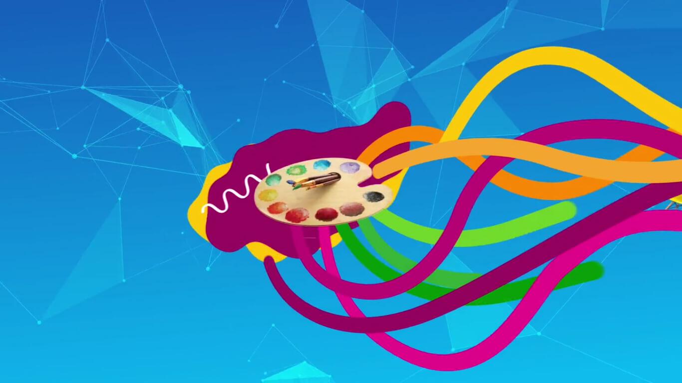 Vestibular Belas Artes | Motion Graphics 1  - Mono Animation