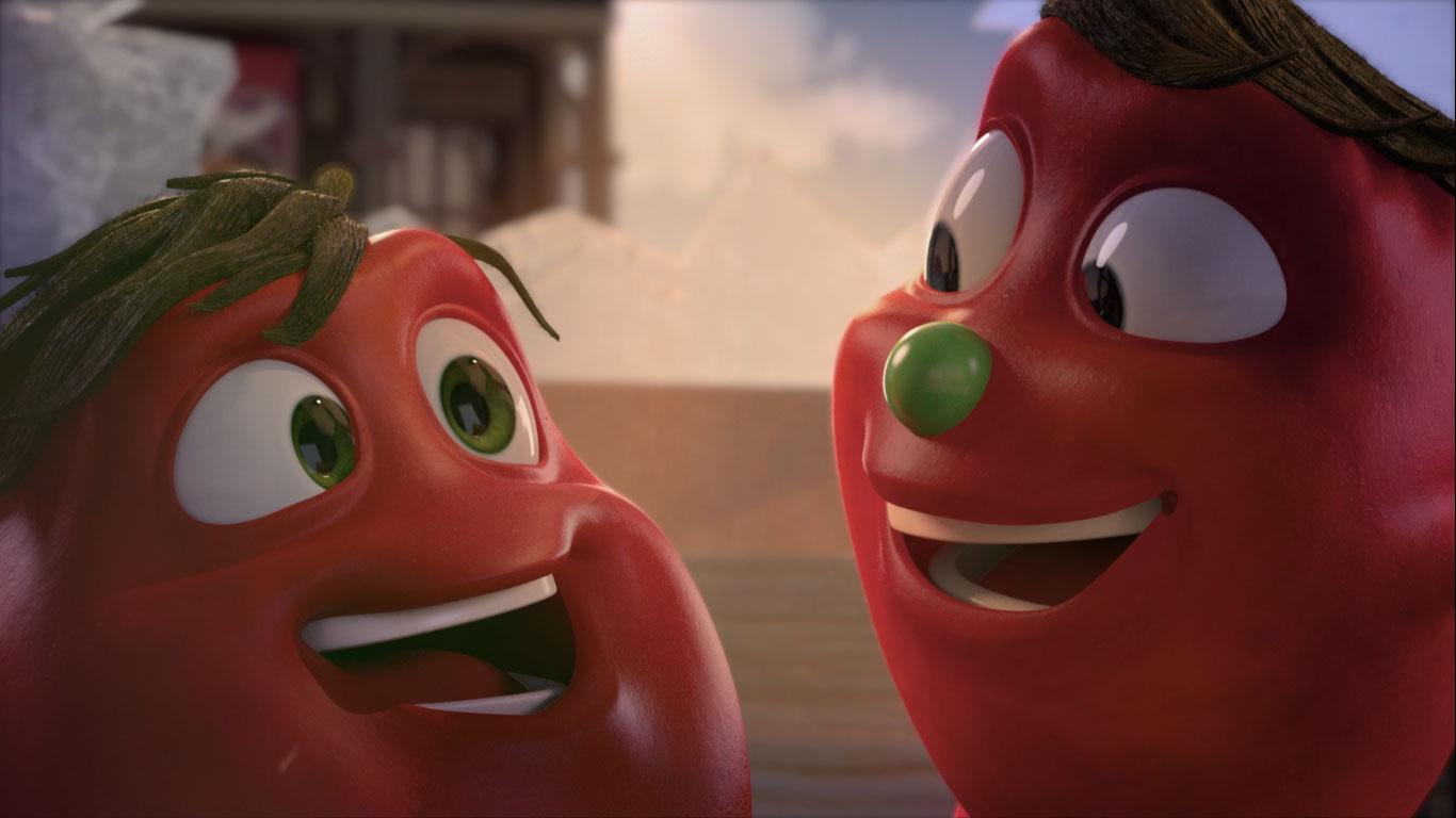 O que um tomatinho disse para o outro? Hellmann's | Branded Experience Content 1  - Mono Animation