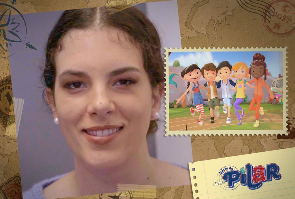 cantora Ceu em Diario de Pilar