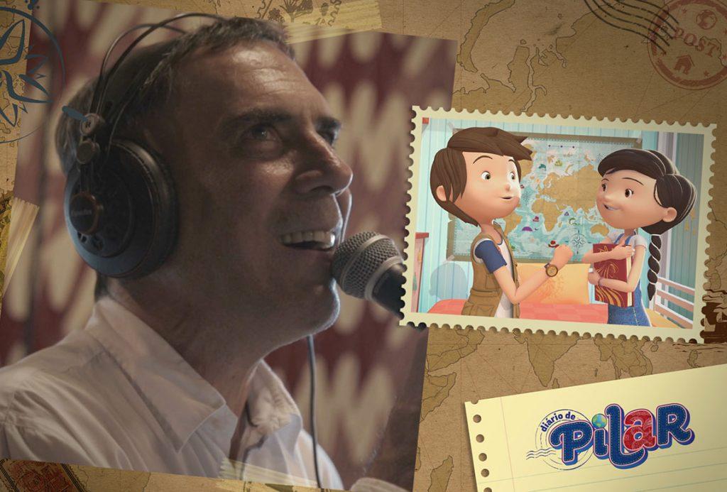 cantor Arnaldo Antunes em Diario de Pilar
