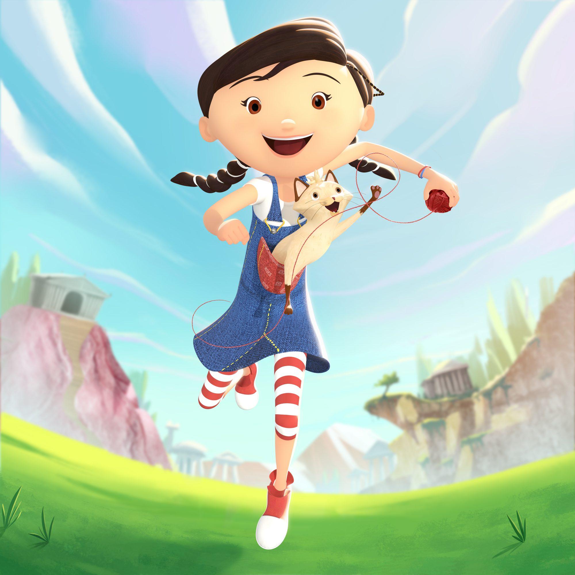 Diário de Pilar - Série de Animação 3D | NatGeo Kids 1  - Mono Animation