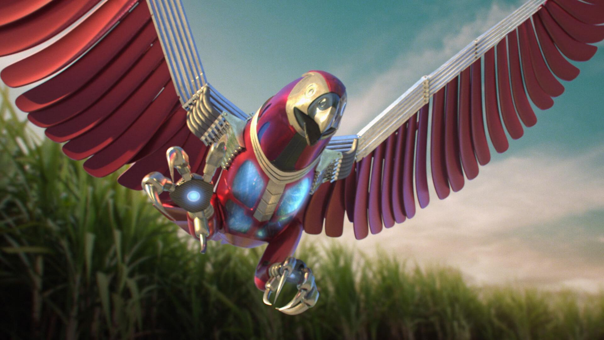 Falcon 1  - Mono Animation